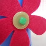 Fiore di bottoni