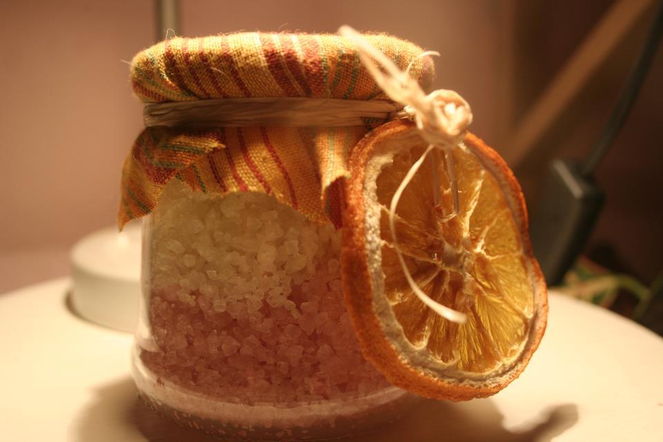 Sali da bagno all\'arancio dolce, limone e cannella | Le (eco) idee ...