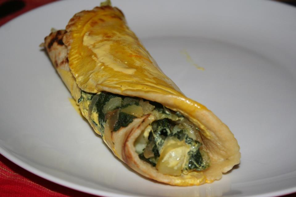 Cannelloni alle verdure con salvia e zafferano le eco - Corsi cucina piacenza ...
